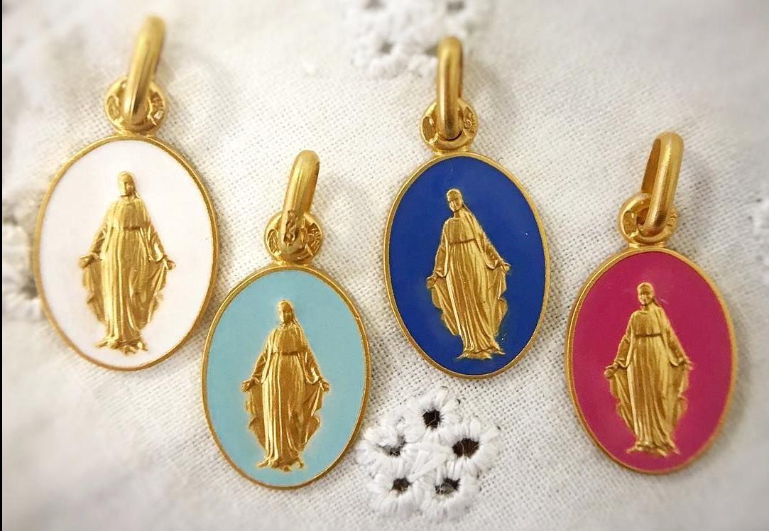 Médaille Vierge Miraculeuse - ARTHUS BERTRAND