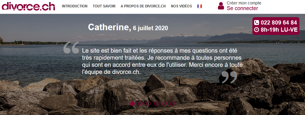 Un divorce peut être rapidement prononcé en Suisse. Découvrez comment.